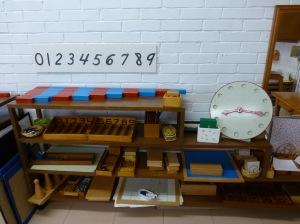 Casa de niños: material de matemáticas secuenciado