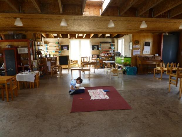 Salon de taller en Tipai