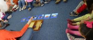 Mostrando vocabulario en grupo