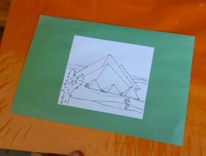 Imagen de pirámide