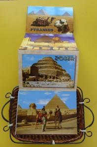 Postales de pirámides