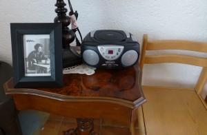 Radiocasete disponible para que los niños escuchen música en cualquier mometno