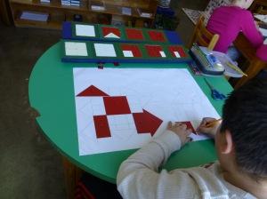 Dibujando la figura geométrica