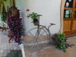 ¿Bicicleta o macetero?