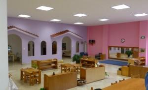 Salon de comunidad infantil de Yicandi