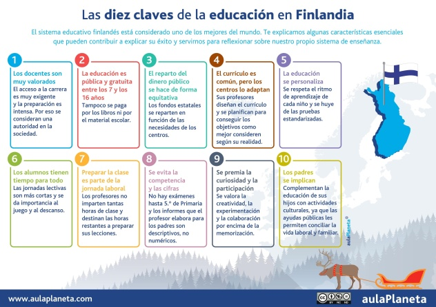 10 claves del sistema educativo finés