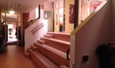 Escaleras y anfiteatro