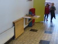 En cualquier lugar se puede poner una mesa
